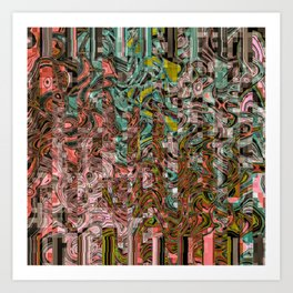 March Winds Art Print