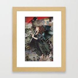 Modern Medusa Framed Art Print