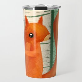 When A Butterly Unexpectedly Drops By For A Visit Travel Mug
