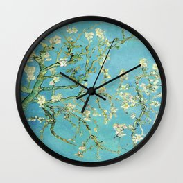 Vincent Van Gogh Almond Blossoms Wall Clock