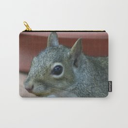 Baby Grey Squirrel Carry-All Pouch