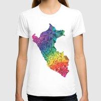 peru T-shirts featuring Peru colors by Romivavi