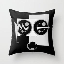 TRiii BLACK SiDE ver. (Original Characters Art by AKIRA) Throw Pillow