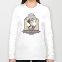 downton abbey Long Sleeve T-shirts featuring Downton Abbey Inspired - Lady Violet - Grantham Institute - Lady Violet Finishing School by Traci Hayner Vanover