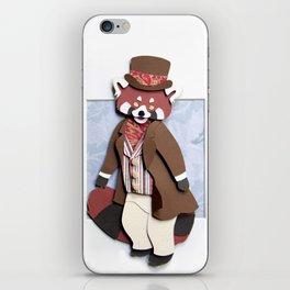 Mr. Red Panda iPhone Skin