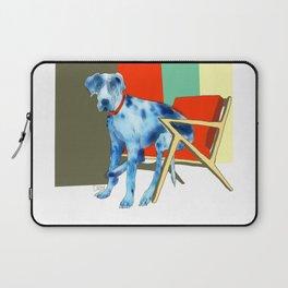 Great Dane in Chair #1 Laptop Sleeve