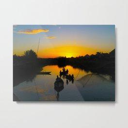 Hoi An Sunset Metal Print