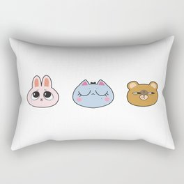 metou mascots Rectangular Pillow