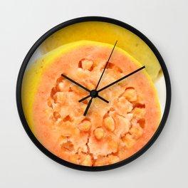 Guava fruits Wall Clock