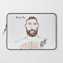 Beard Boy Flame 3 Laptop Sleeve