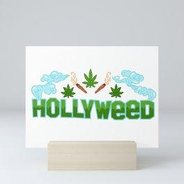 HOLLYWEED Mini Art Print