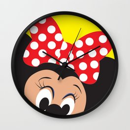 Minnie Mouse No. 5 Wall Clock