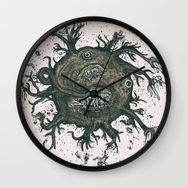 Flying Horror Wall Clock