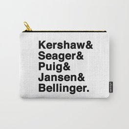 The Dodgers Five Carry-All Pouch