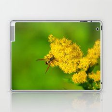 Paper Wasp - Yellow Flowers Laptop & iPad Skin