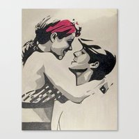 notebook Canvas Prints featuring The Notebook by Pop Artist