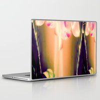 orchid Laptop & iPad Skins featuring orchid by Eva Lesko