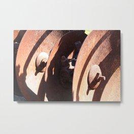 Disc Plough Metal Print