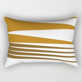 Zigzag ethno Lines -- chocos Rectangular Pillow