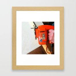 Jig saw Framed Art Print