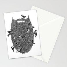 Bird Beard Stationery Cards