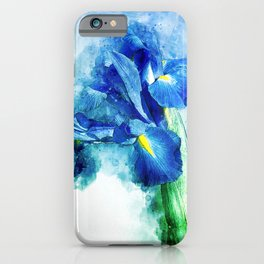 Underwater Iris iPhone Case
