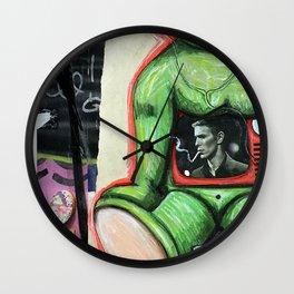 London Graffiti Wall Clock