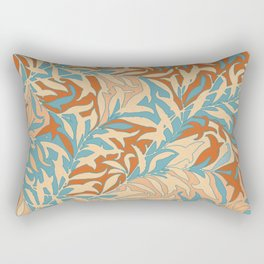 Motivo floral Rectangular Pillow