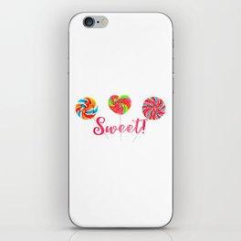 Sweet! iPhone Skin