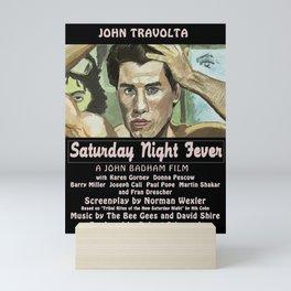 Saturday Night Fever Mini Art Print