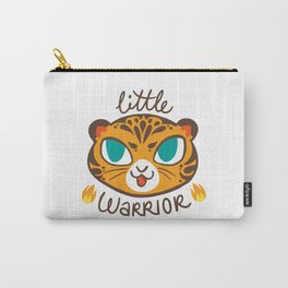 Baby Big Cats Little Warrior Tiger Cub Carry-All Pouch