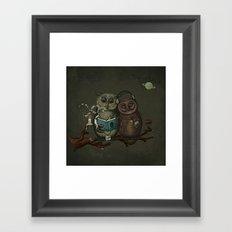 nightowls Framed Art Print