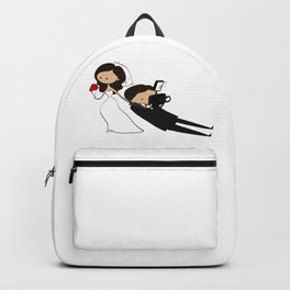 THE GROOM & THE BRIDE Backpack