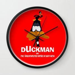 DUCK MAN Wall Clock