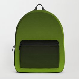 Ombre | Charcoal Grey and Lime Green Backpack