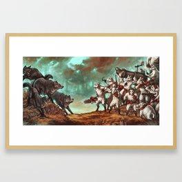 Team Sheep Framed Art Print