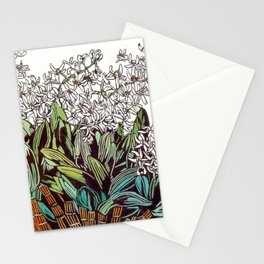 """Australian Rock Lily"" by Margaret Preston Stationery Cards"