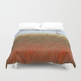 Autumn Marsh Duvet Cover