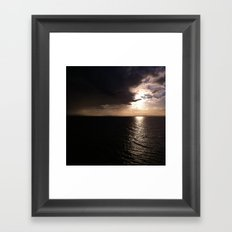 Darkness falling Framed Art Print