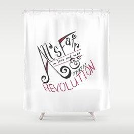 Top Hat Revolution Shower Curtain
