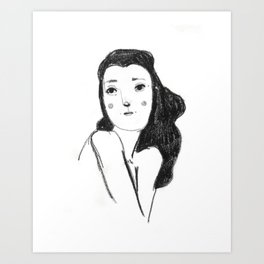 Femme No.1 Art Print