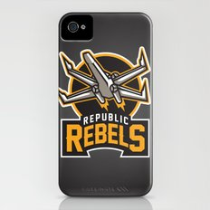 Republic Rebels - Black Slim Case iPhone (4, 4s)
