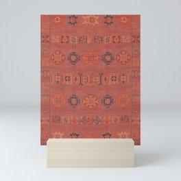 Heritage Moroccan Berber Design  Mini Art Print