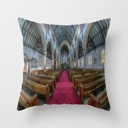 Faith Of Our Fathers  Throw Pillow