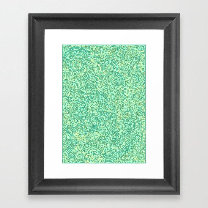 Pattern One Framed Art Print