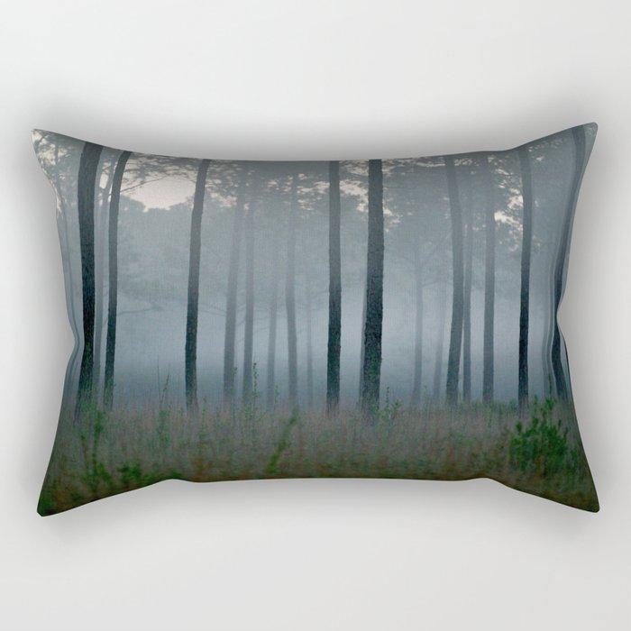 cold rain Rectangular Pillow