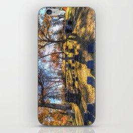 Sleepy Hollow Cemetery New York iPhone Skin