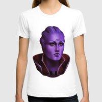 mass effect T-shirts featuring Mass Effect: Aria T'Loak by Ruthie Hammerschlag