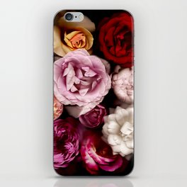 Red, White, Yellow, and Pink Roses iPhone Skin