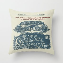 Voices from the Borderlands Throw Pillow